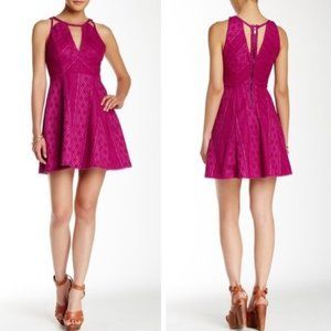 Free People Intimately Miss Connections Pink Dress